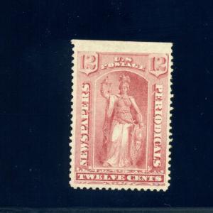 Scott #PR16 Newspaper Unused Stamp  with Weiss Cert  (Stock #PR16-w2)