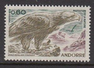 Andorra 212 Golden Eagle mnh
