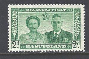 Basutoland Sc # 36 mint hinged (DT)