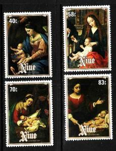 Niue MNH 457-60 Christmas 1984