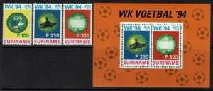 Surinam SC# 972-974a, Mint Never Hinged, II - Lot 052117