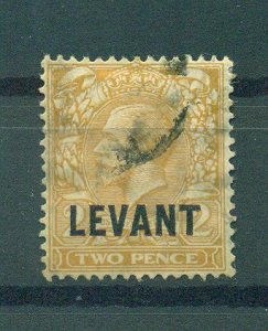 Great Britain Offices in Turkey sc# 48 used cat value $32.50