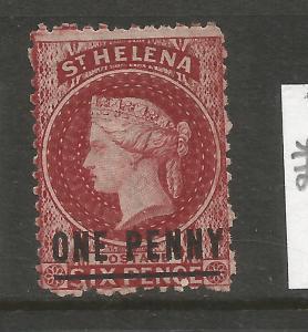 ST HELENA  1884-90   1d  QV  MLH   P12 1/2    SG 8