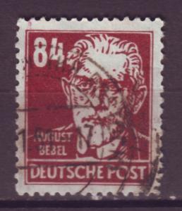 J10929 JL Stamps 1948 Russia ocup,t germany ddr bebel wmk 292