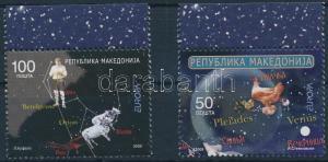 Makedonien stamp Europa CEPT: Astronomy margin set MNH 2009 Mi 502-503 WS191240