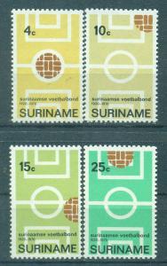 Surinam sc# 378-381 mnh cat value $1.40