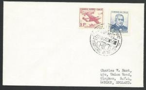 CHILE ANTARCTIC 1965 cover - base cancel...................................53556