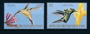 [28629] Congo Kinshasa 2000 Birds Vögel Oiseaux Ucelli Kolibri MNH