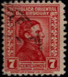 Uruguay Scott 358 Used stamp