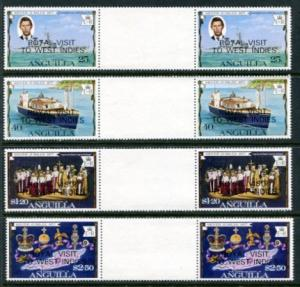 Anguilla 297-300 GP Mint NH CV$3.80+. NO per item shipping