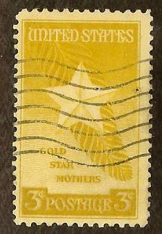 US 969 3c Star & Palm Frond 1948 used