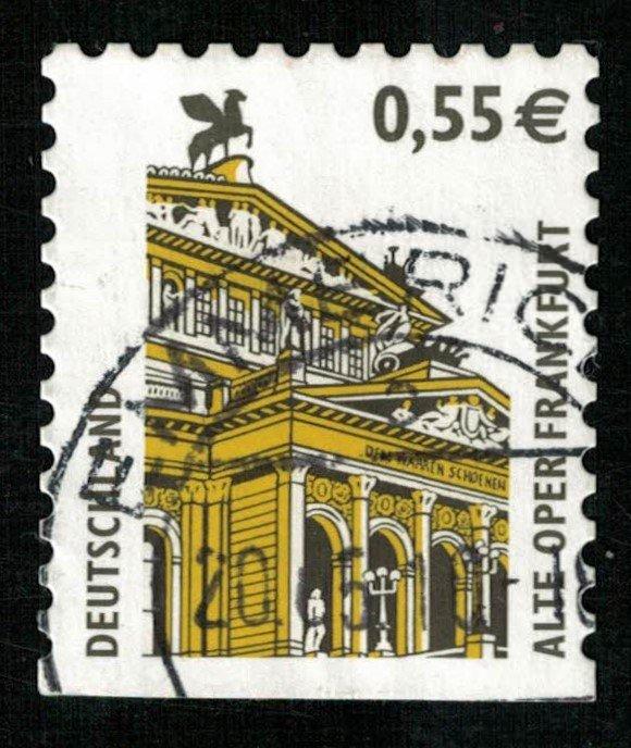 Deutschland, 0.55 €, Alte Oper Frankfurt (3776-Т)