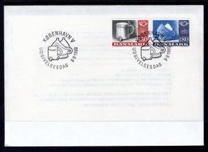 Denmark 670-671 U/A FDC