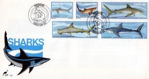 Ciskei - 1983 Sharks FDC SG 38-42