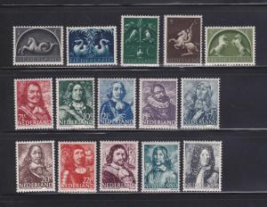 Netherlands 245, 247-248, 250-261 MHR Various (B)