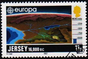 Jersey. 1982 11p S.G.289 Fine Used