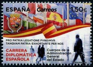 HERRICKSTAMP NEW ISSUES SPAIN Sc.# 4341 Diplomatic Service