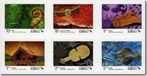 2013  NEW ZEALAND  SG: 3456/61 MATARIKI S/A SET UNMOUNTED MINT