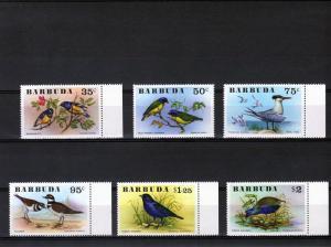 Barbuda 1976 Birds Set (6) MNH VF Sc# 238/243