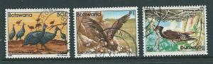 Botswana #318-320  (U) CV $36.00