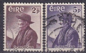 Ireland #159-60   F-VF Used CV $6.75  (Z4134)