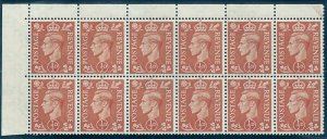 Sg 503 Q3e ½d Pale Orange with 'Spur to R' variety UNMOUNTED MNT