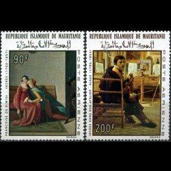 MAURITANIA 1967 - Scott# C66+C69 Paintings Set of 2 NH