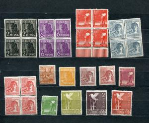 Germany 1947 Accumulation MNH/MH Some Block of 4  4840