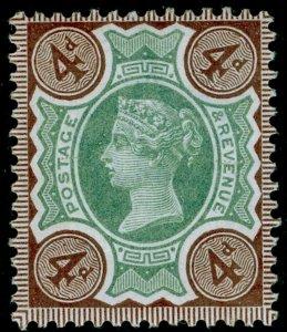 SG205 SPEC K33(1), 4d green & purple-brown, VLH MINT. Cat £40.