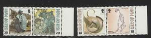Isle of Man #559a-561a MNH CV$3.05 Kneale Caine Brass Bedstead Polar Bear