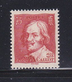 France 305 Set MH Jacques Callot, Engraver (B)
