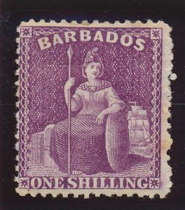 Barbados Stamp Scott #56, Mint Hinged/Remnant - Free U.S. Shipping, Free Worl...