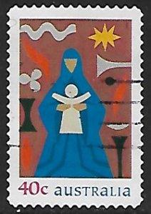 Australia #  1797 - Madonna & Child - Used....(GR3)