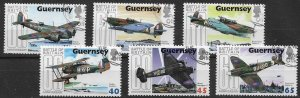 GUERNSEY 2000 used with gum set Battle of Britain