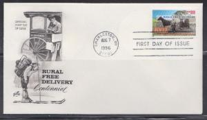3090 Rural Free Delivery ArtCraft FDC