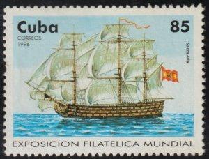 1996 Cuba Stamps Sc 3746 Sailing Ships Santa Ana MNH