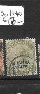 INDIA  CHAMBA (PP3108B) QV  SG13  6A     VFU