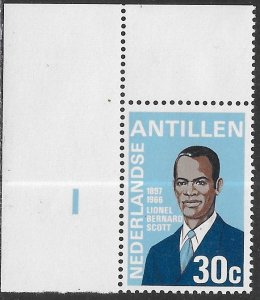 Netherlands Antilles (Curacao) 357 MNH - Lionel Bernard Scott (1897-1966)