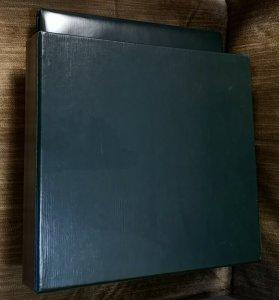1 Luxury SAFE Dark Green 14-RING Binder w Case