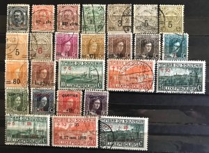 Luxembourg: Lot Older Used Sets and Stamps