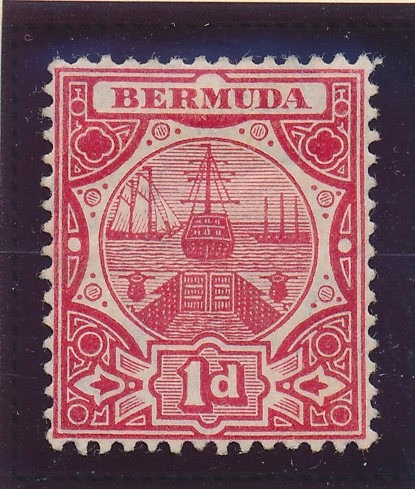Bermuda Stamp Scott #35, Mint Hinged
