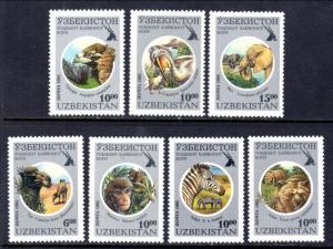 Uzbekistan 96-102 Animals MNH VF
