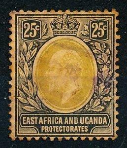 East Africa & Uganda Protectorates #37 Single Used