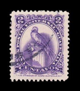 GUATEMALA STAMP 1957. SCOTT # 367. USED. # 7