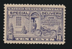 US E12 10c Special Delivery Mint VF-XF OG NH SCV $95