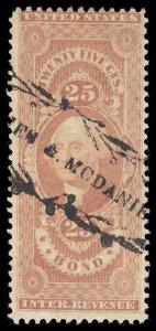 U.S. REV. FIRST ISSUE R43c  Used (ID # 97464)