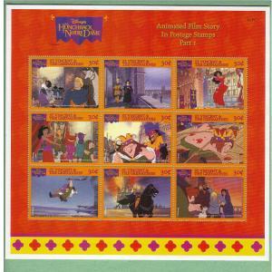Disney - St.Vincent/Grenadines -1996 - Hunchback - S'let