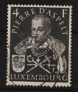 Luxembourg 1953 Pierre d'Aspelt , Archbishop of Mainz (1/1) USED