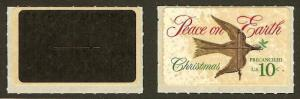 TD117 / 1552 Christmas Dove All Black Test Stamp Mint NH