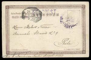 Austria 1901 SMS Elizabeth Navy China Boxer Rebellion Japan Feldpost Cover 88173